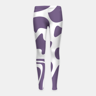 Thumbnail image of Leggings cow design blocks silver, Live Heroes