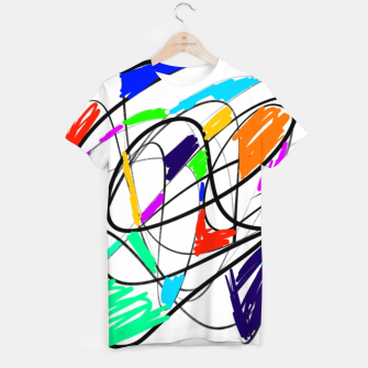 Miniatur Abstract  T-shirt, Live Heroes