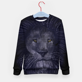 Miniature de image de Lion Kid's sweater, Live Heroes