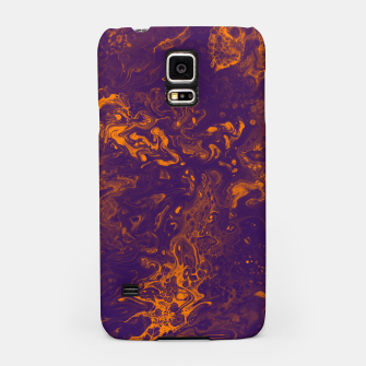 Miniaturka Golden Smoke - An Abstract Samsung Case, Live Heroes