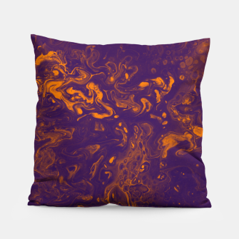 Miniature de image de Golden Smoke - An Abstract Pillow, Live Heroes