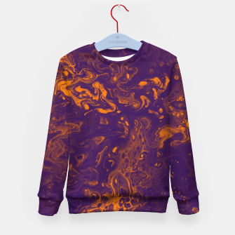 Miniature de image de Golden Smoke - An Abstract Kid's sweater, Live Heroes