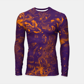 Miniature de image de Golden Smoke - An Abstract Longsleeve rashguard , Live Heroes