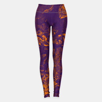 Imagen en miniatura de Golden Smoke - An Abstract Leggings, Live Heroes