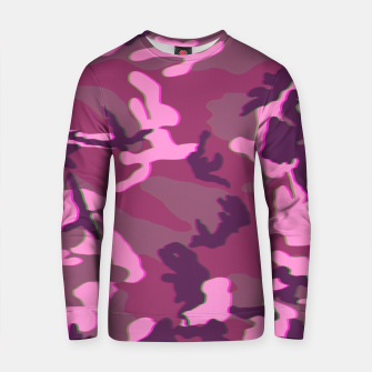 Miniaturka Pink 3D Camouflage Cotton sweater, Live Heroes