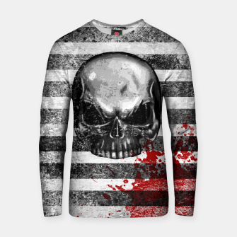 Miniaturka blood stained bonehead Cotton sweater, Live Heroes