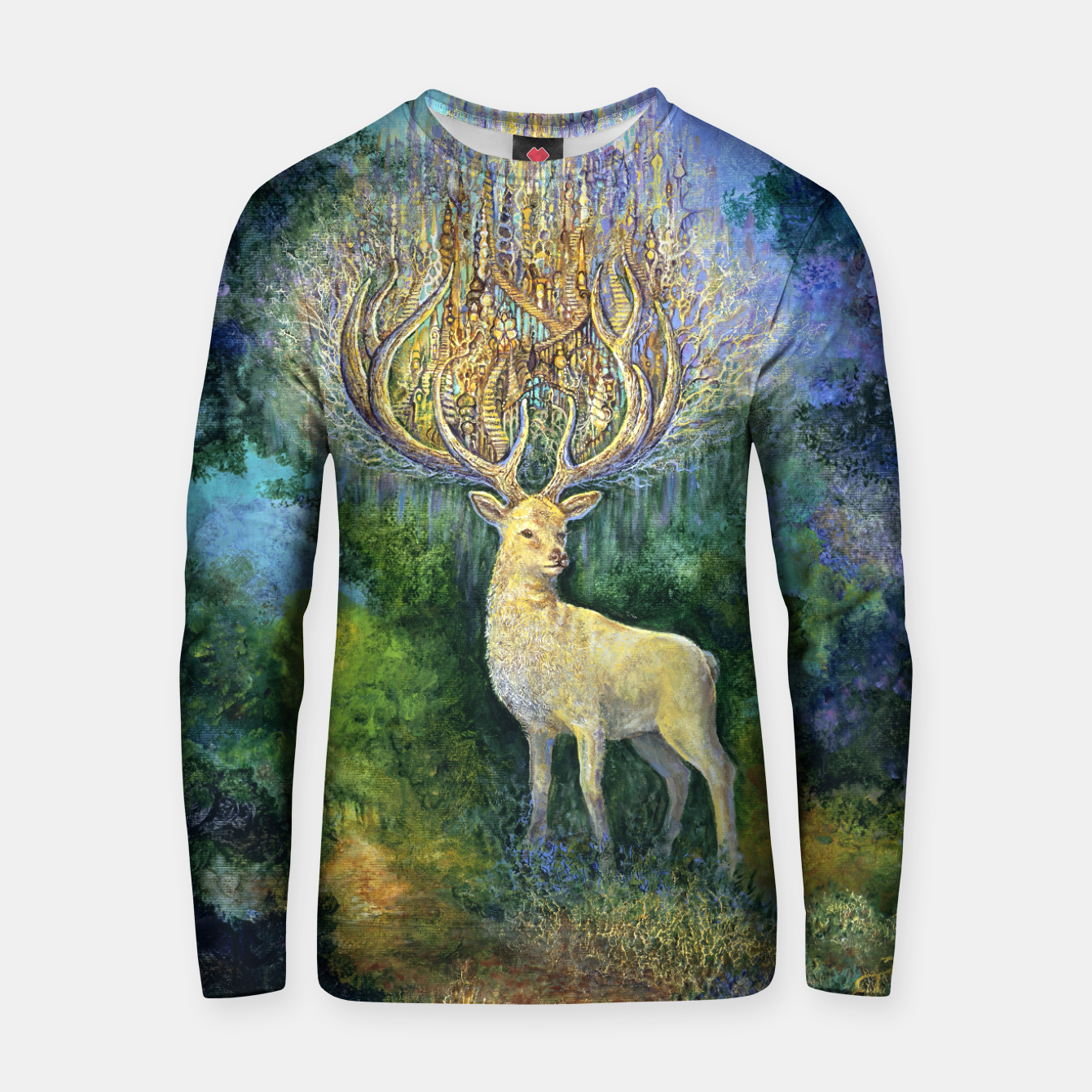 Image of The White Hart Cotton sweater - Live Heroes