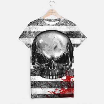Miniatur blood stained bonehead T-shirt, Live Heroes