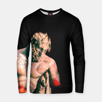 Thumbnail image of bloody statue Cotton sweater, Live Heroes