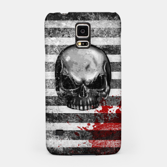 Miniaturka blood stained bonehead Samsung Case, Live Heroes