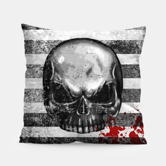 Miniature de image de blood stained bonehead Pillow, Live Heroes