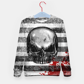 Miniature de image de blood stained bonehead Kid's sweater, Live Heroes
