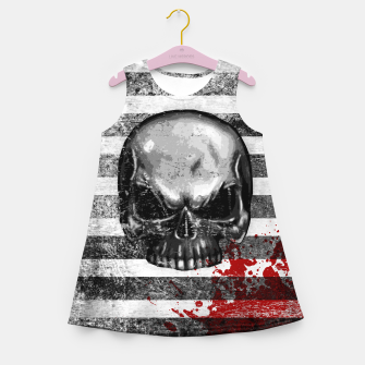 Imagen en miniatura de blood stained bonehead Girl's summer dress, Live Heroes