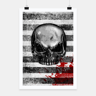Miniaturka blood stained bonehead Poster, Live Heroes
