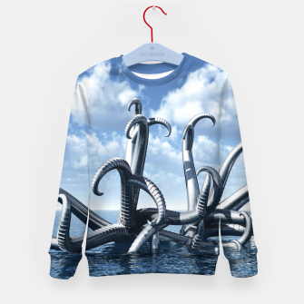 Miniature de image de octopus Kid's sweater, Live Heroes