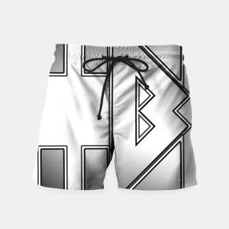 Thumbnail image of Loctan Swim Shorts, Live Heroes