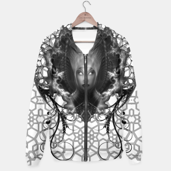 Thumbnail image of Riddian Queen Of Fire Oracle GS ISO GEOPAT Cotton zip up hoodie, Live Heroes