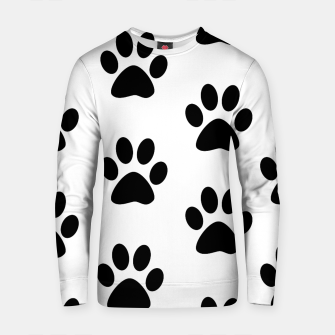 Paws Black and White Cotton sweater obraz miniatury