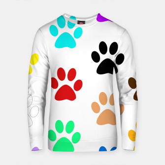 Thumbnail image of Paws Rainbow Cotton sweater, Live Heroes