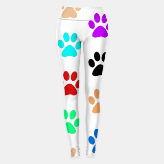 Thumbnail image of Paws Rainbow Leggings, Live Heroes