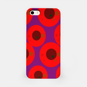 Thumbnail image of iPhone Case design  Red Plums, Live Heroes