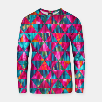 Miniatur Abstract Pattern Cotton sweater, Live Heroes