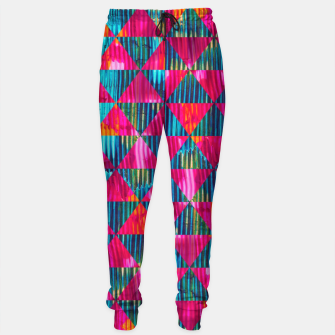Miniatur Abstract Pattern Cotton sweatpants, Live Heroes