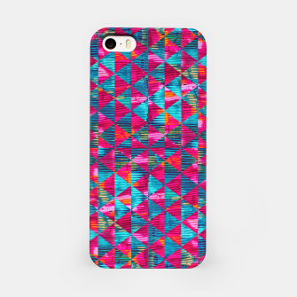Miniatur Abstract Pattern iPhone Case, Live Heroes
