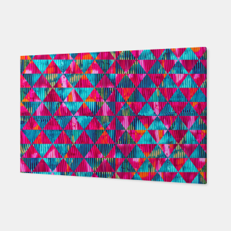 Miniaturka Abstract Pattern Canvas, Live Heroes