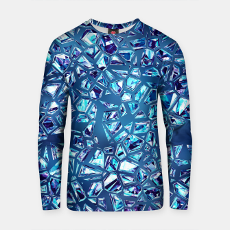 Miniatur Shattered Abstract Crystals Cotton sweater, Live Heroes