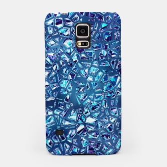 Miniaturka Shattered Abstract Crystals Samsung Case, Live Heroes
