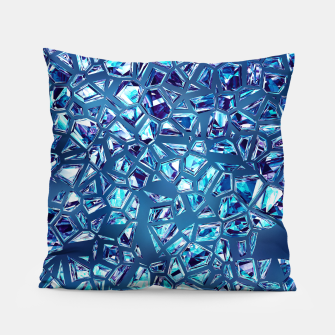 Miniature de image de Shattered Abstract Crystals Pillow, Live Heroes