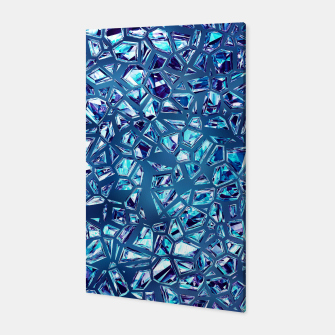 Miniaturka Shattered Abstract Crystals Canvas, Live Heroes