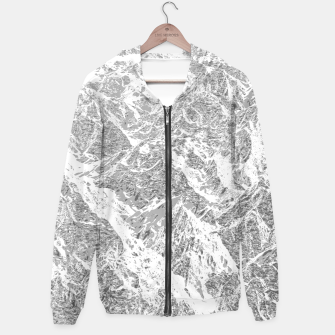 Call of the Mountains Cotton zip up hoodie thumbnail image