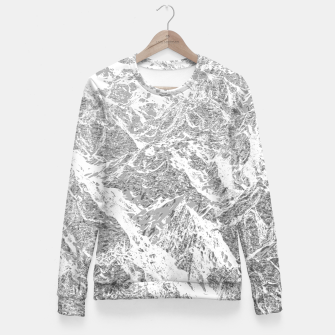 Thumbnail image of Call of the Mountains Woman cotton sweater, Live Heroes