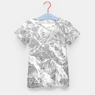 Thumbnail image of Call of the Mountains Kid's t-shirt, Live Heroes
