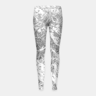 Thumbnail image of Call of the Mountains Girl's leggings, Live Heroes
