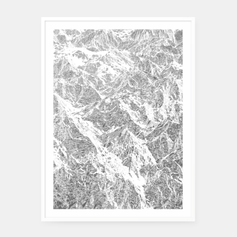 Miniature de image de Call of the Mountains Framed poster, Live Heroes