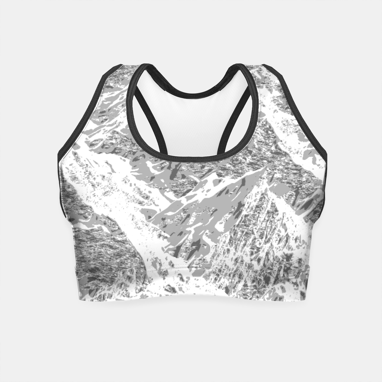 Image of Call of the Mountains Crop Top - Live Heroes