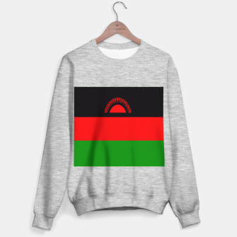 Miniature de image de Flag of Malawi  Sweater regular, Live Heroes