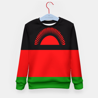 Miniature de image de Flag of Malawi  Kid's sweater, Live Heroes