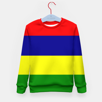 Miniature de image de Flag of Mauritius  Kid's sweater, Live Heroes