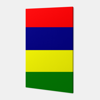 Thumbnail image of Flag of Mauritius  Canvas, Live Heroes