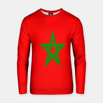 Thumbnail image of Flag of Morocco  Cotton sweater, Live Heroes