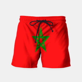 Thumbnail image of Flag of Morocco  Swim Shorts, Live Heroes