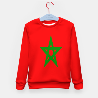 Miniature de image de Flag of Morocco  Kid's sweater, Live Heroes