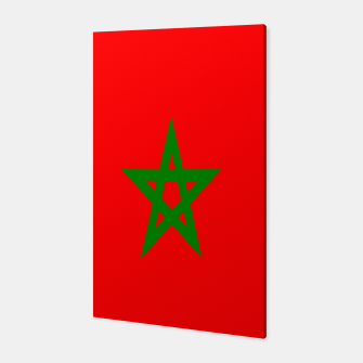 Thumbnail image of Flag of Morocco  Canvas, Live Heroes