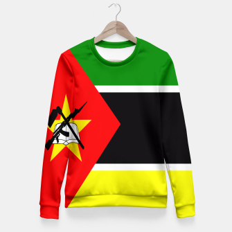 Thumbnail image of Flag of Mozambique  Woman cotton sweater, Live Heroes