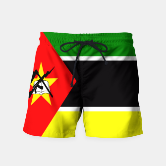 Thumbnail image of Flag of Mozambique  Swim Shorts, Live Heroes