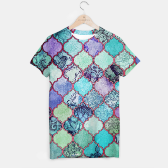Thumbnail image of V33 BOHO Traditional Moroccan Design T-shirt, Live Heroes